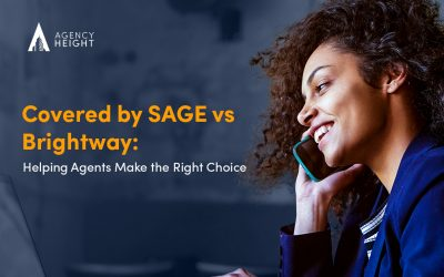 Covered by SAGE vs Brightway: Helping Agents Make the Right Choice