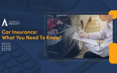 Car Insurance – What You Need to Know