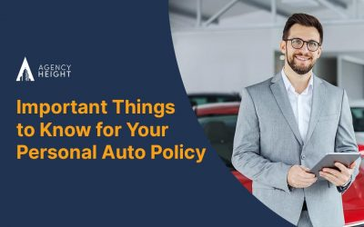 Important Things to Know for Your Personal Auto Policy